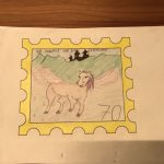 Briefmarke 1